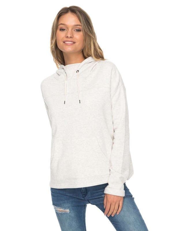 0 Coasting Ahead Split Back Hooded Sweatershirt  ERJFT03667 Roxy