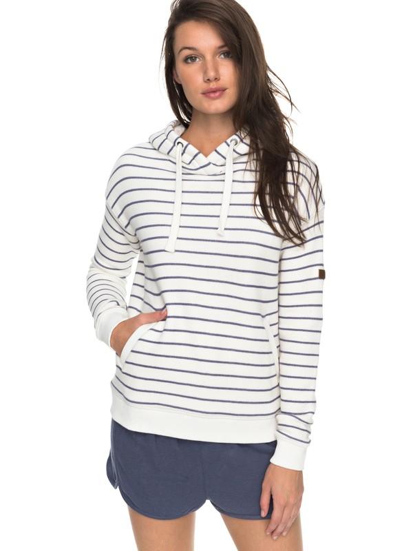 0 Shoal Stripe Pullover Hoodie  ERJFT03668 Roxy
