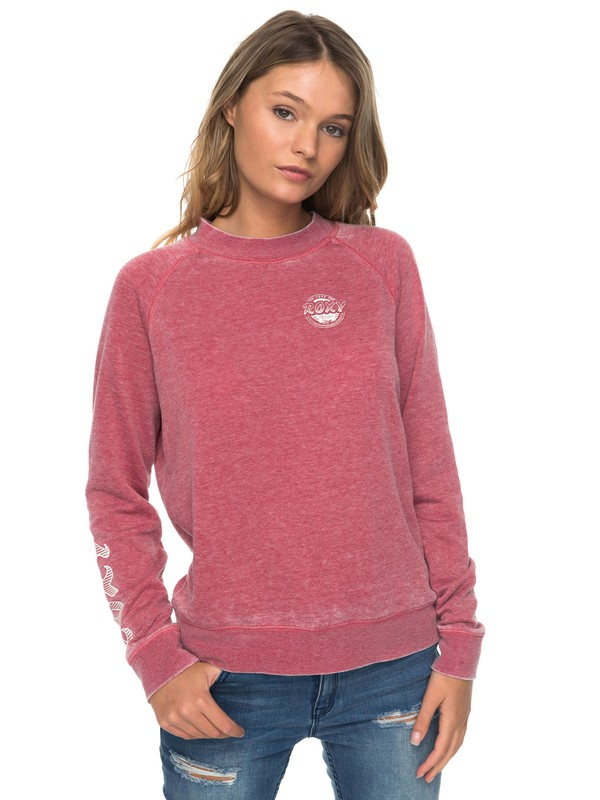 0 Be Shore Crew Neck Sweatshirt  ERJFT03671 Roxy