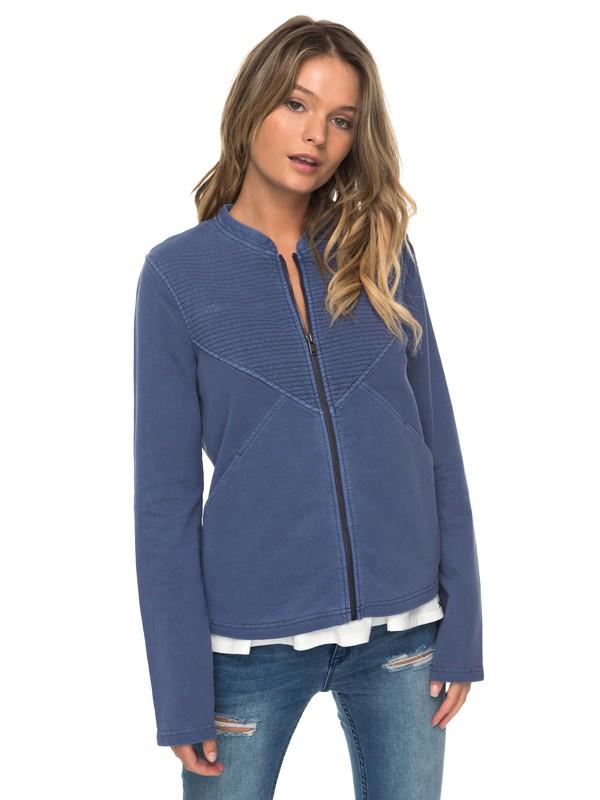 0 Oh Buoy Zip-Up Sweatshirt  ERJFT03674 Roxy