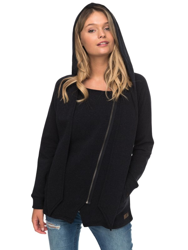 0 Sea It Zip-Up Hoodie  ERJFT03675 Roxy