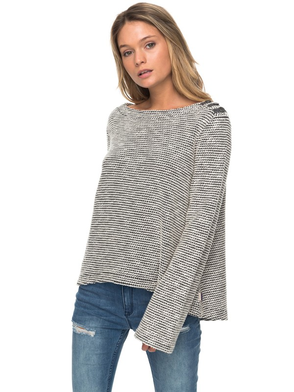 0 Free Thinking Bell Sleeve Sweatshirt  ERJFT03677 Roxy