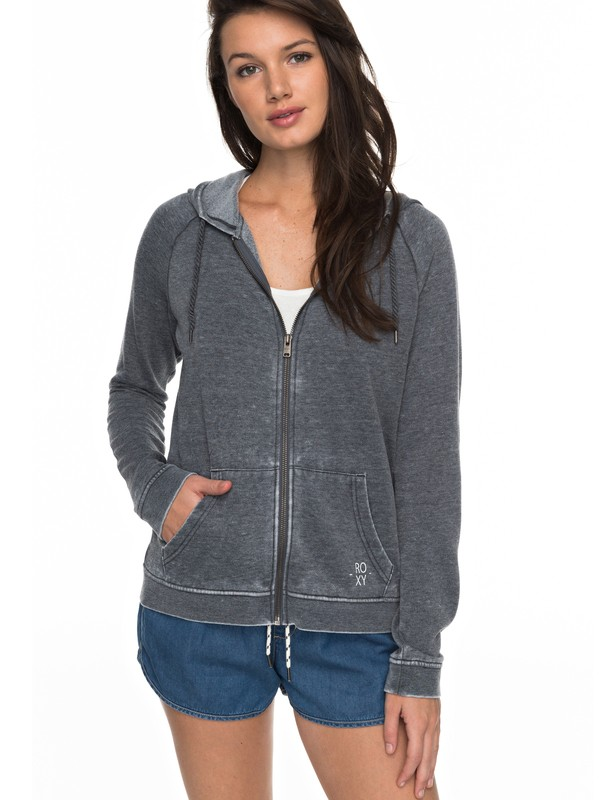 0 Break Drop Zip Up Hoodie  ERJFT03678 Roxy