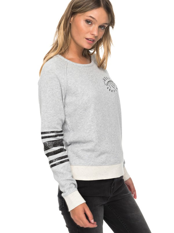 0 Full Of Joy A - Sweat Gris ERJFT03730 Roxy