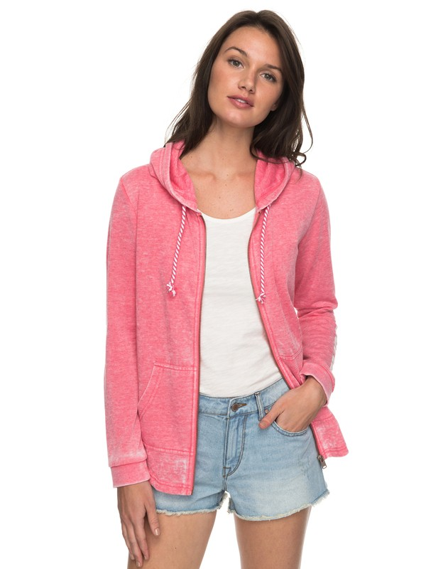 0 Sunkissed Moment B - Zip-Up Hoodie Pink ERJFT03733 Roxy