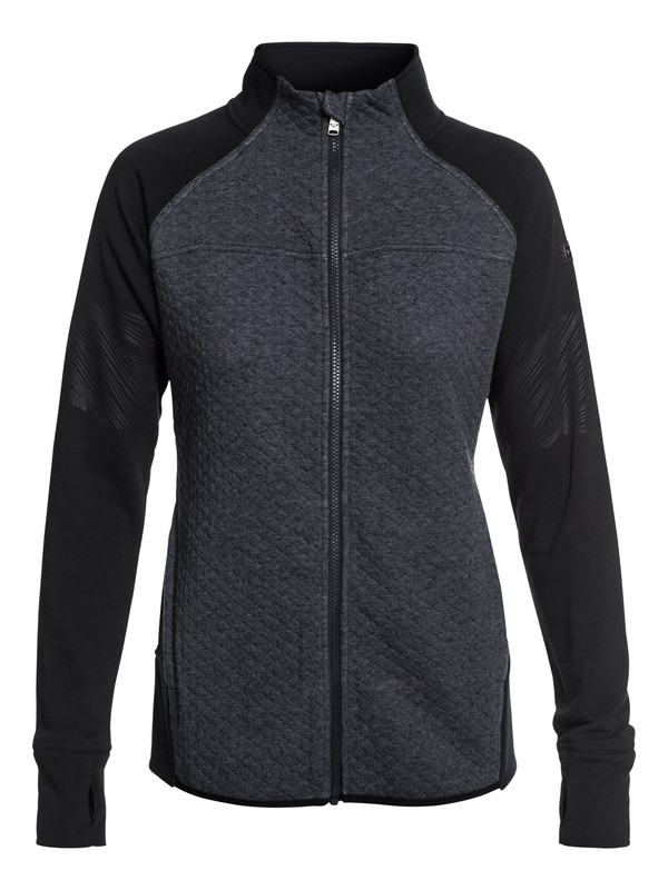 0 ROXY Premiere Technical Zip-Up Sweatshirt  ERJFT03740 Roxy