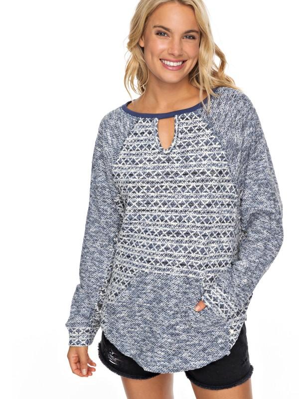 0 Fever Trip Pullover Sweatshirt  ERJFT03771 Roxy