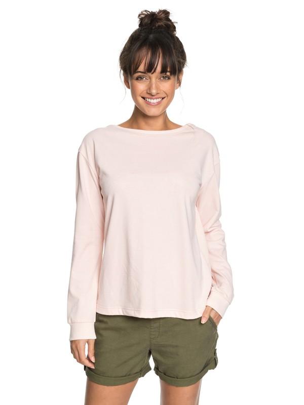 0 Journey On Wrap Sweatshirt Pink ERJFT03807 Roxy