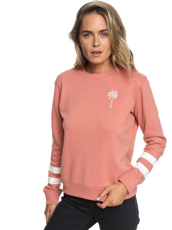 0 Burning Stars A Sweatshirt Pink ERJFT03887 Roxy