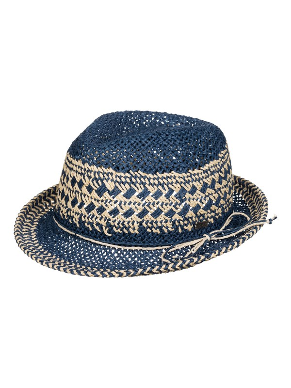 0 Big Swell Straw Fedora  ERJHA03048 Roxy