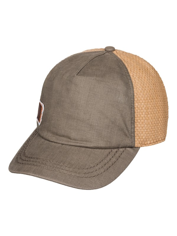 0 Incognito  Straw Baseball Hat  ERJHA03083 Roxy