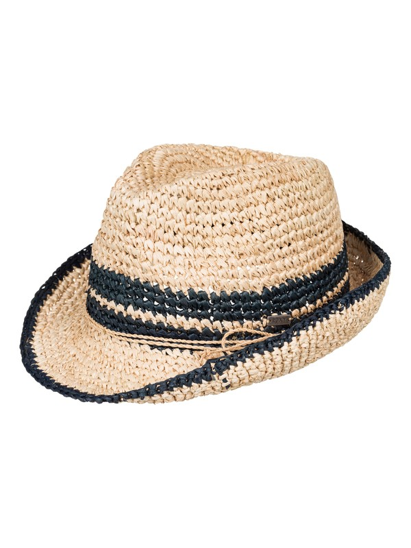 0 Witching  Straw Fedora  ERJHA03112 Roxy