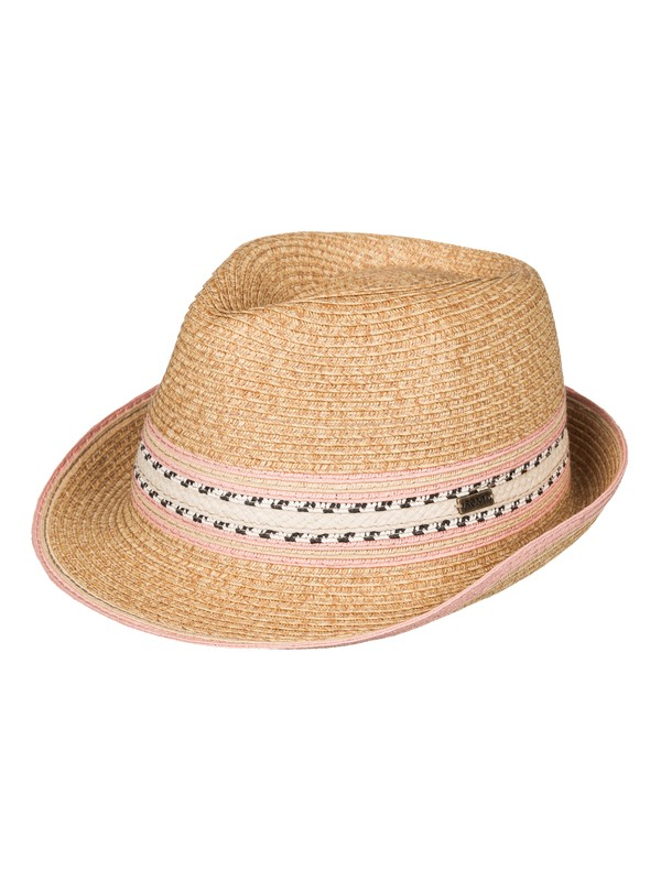 0 Wave Pop Straw Fedora  ERJHA03195 Roxy