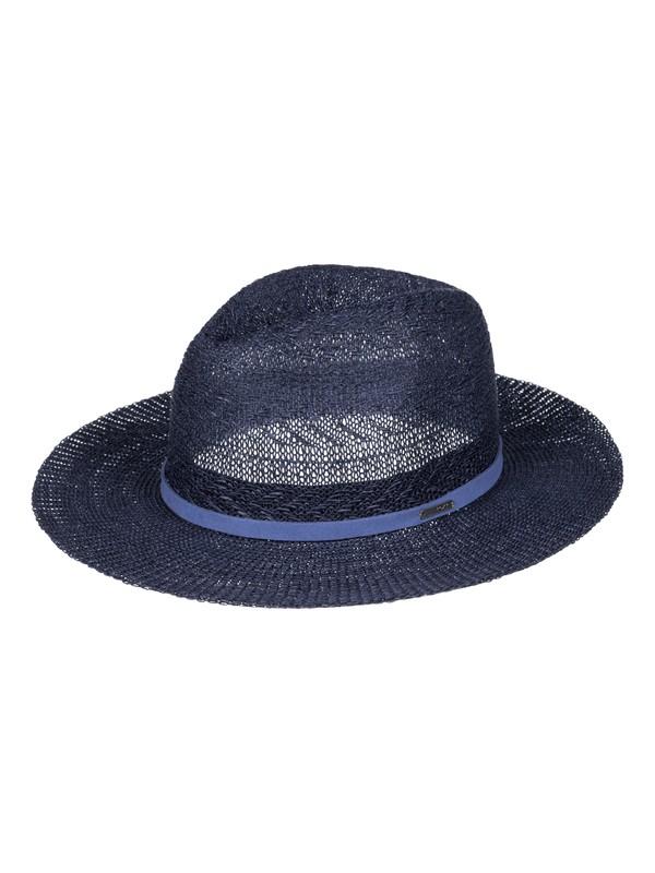 0 In The Sunshine - Chapeau de paille style fedora Bleu ERJHA03216 Roxy