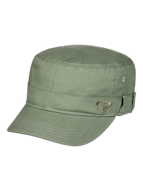 0 Castro Military Hat Green ERJHA03229 Roxy e478143a374