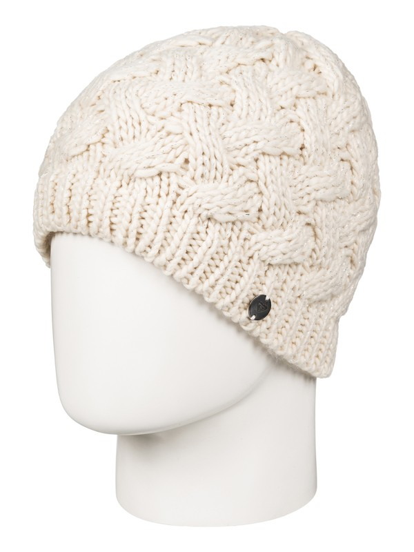 0 Love And Snow - Bonnet pour Femme Beige ERJHA03264 Roxy