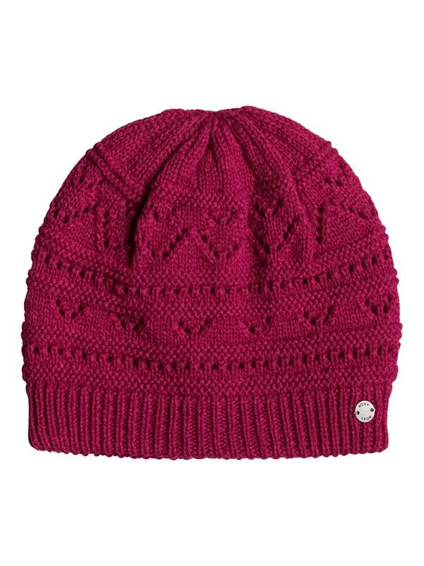 0 Girl Challenge - Beanie Pink ERJHA03308 Roxy