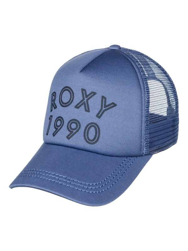 0 Truckin Trucker Hat Blue ERJHA03315 Roxy