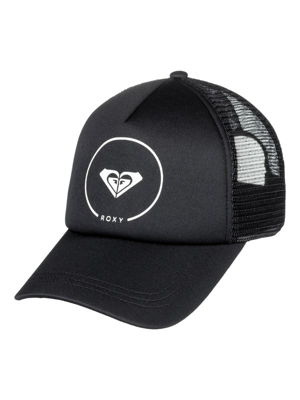 0 Truckin Trucker Hat Black ERJHA03315 Roxy