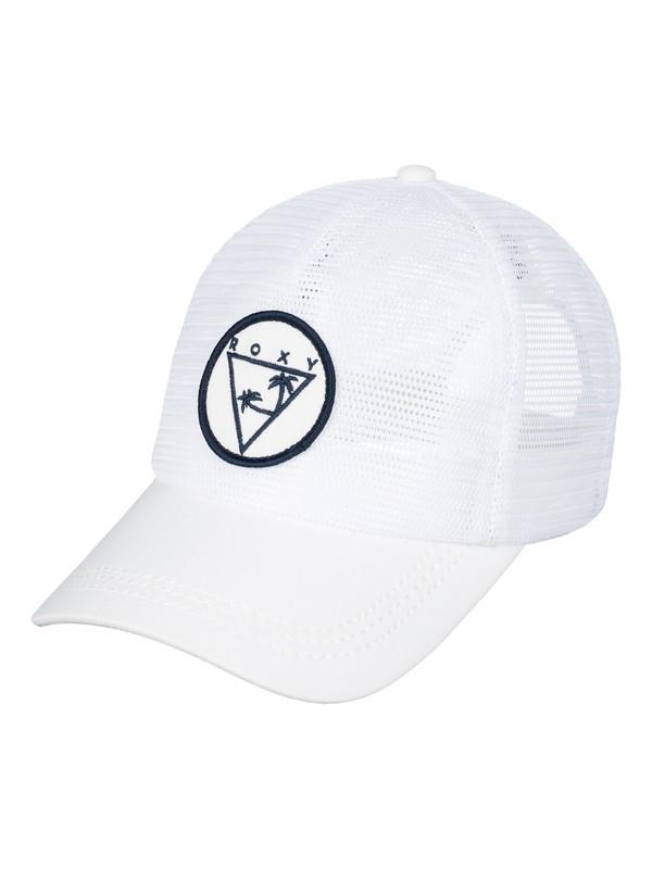0 Your Baby Patch Trucker Hat White ERJHA03316 Roxy