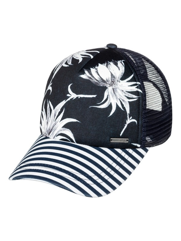 0 Water Come Down Trucker Hat  ERJHA03355 Roxy