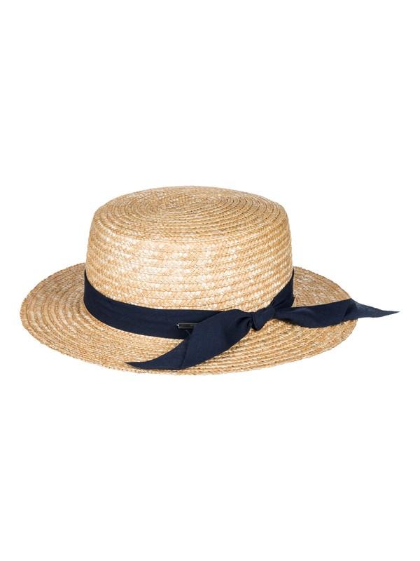 0 Dream Like A Travel  Straw Boat Hat  ERJHA03383 Roxy