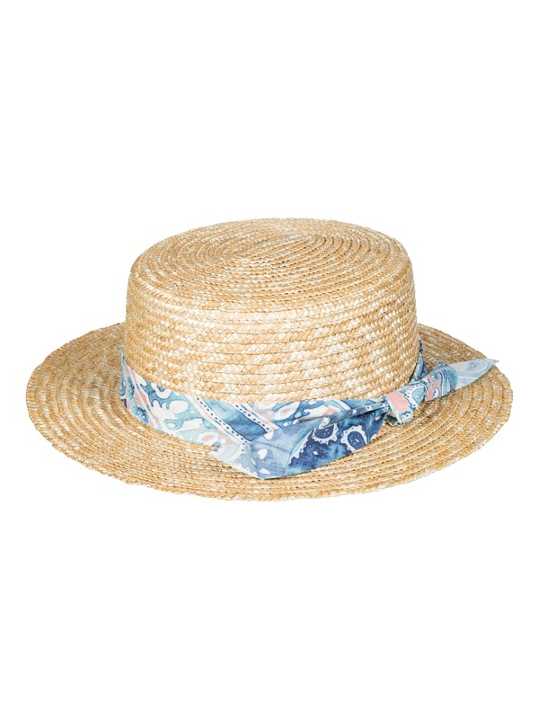 0 Dream Like A Travel Straw Boat Hat  ERJHA03383 Roxy