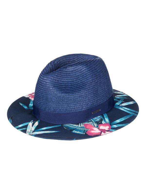 0 Youhou  Straw Fedora Blue ERJHA03384 Roxy