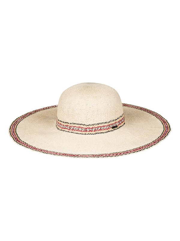 0 Under The Coconuts Straw Sun Hat Yellow ERJHA03385 Roxy
