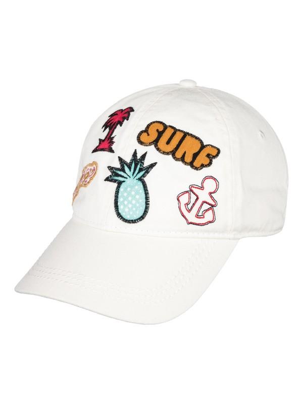 0 Dear Believer  Baseball Hat White ERJHA03396 Roxy