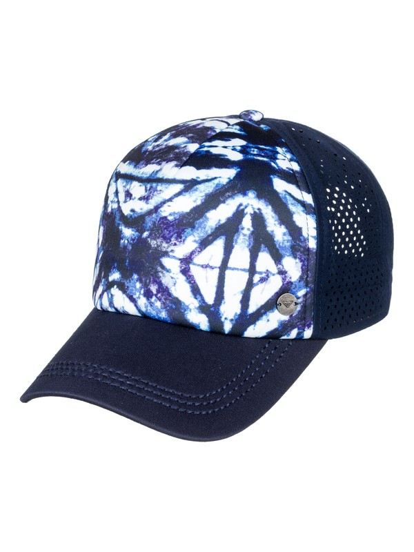 0 Waves Machines - Gorra Trucker para Mujer Azul ERJHA03398 Roxy