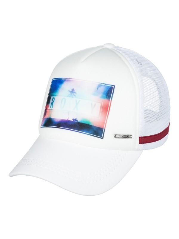 0 Dig This  Trucker Hat White ERJHA03400 Roxy