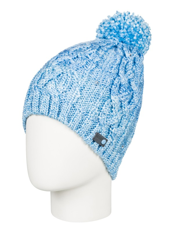 0 Shooting Star Pom-Pom Beanie Blue ERJHA03415 Roxy