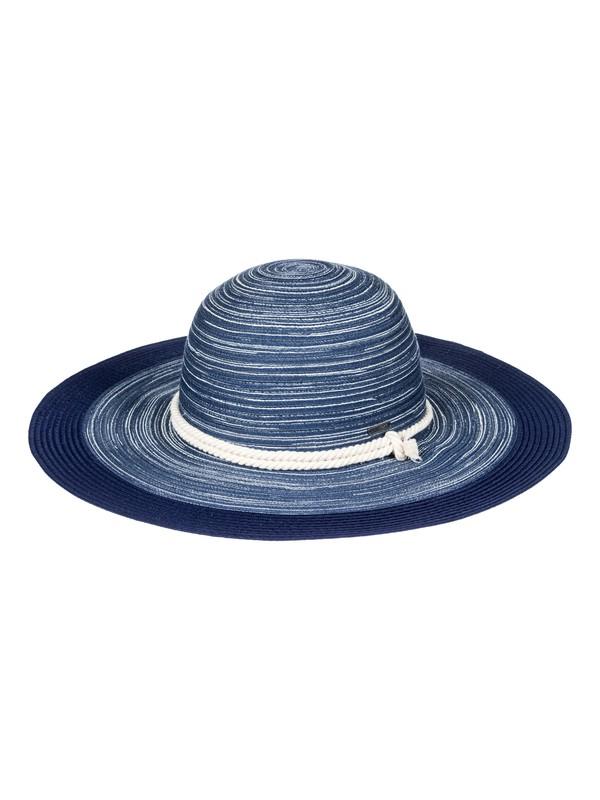 0 Ocean Dream  Straw Sun Hat Blue ERJHA03417 Roxy
