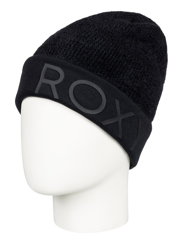 0 ROXY Premiere Beanie Black ERJHA03432 Roxy