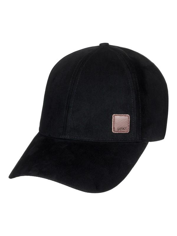 0 Southset Faux Suede Baseball Hat Black ERJHA03440 Roxy