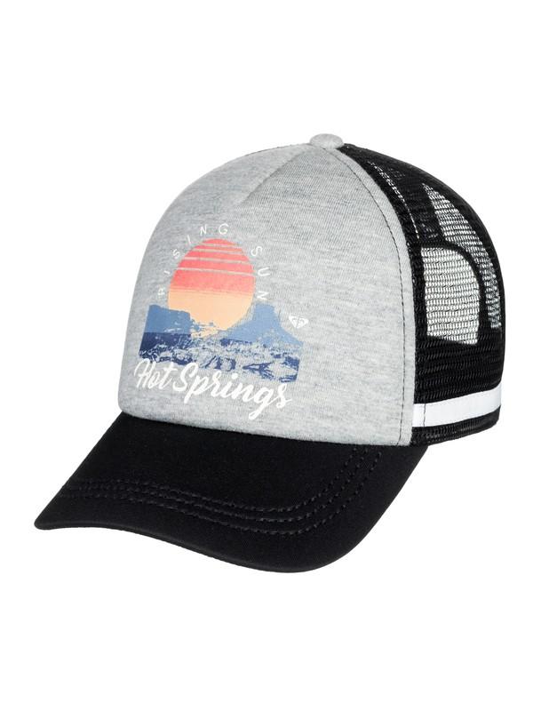 0 Dig This Trucker Hat Grey ERJHA03441 Roxy