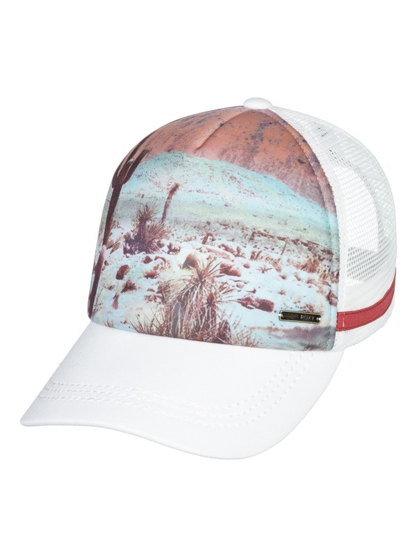 0 Dig This Trucker Hat White ERJHA03441 Roxy
