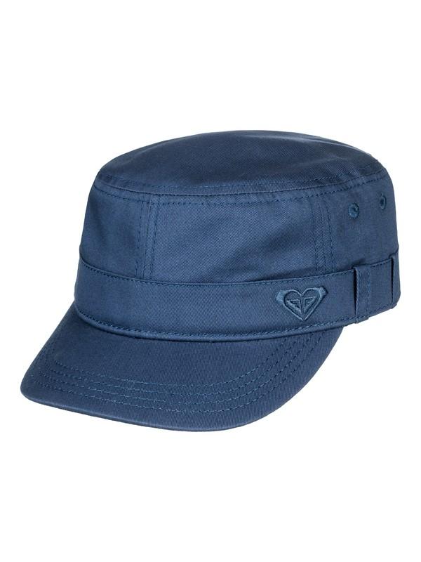 0 Military Cap Blue ERJHA03442 Roxy