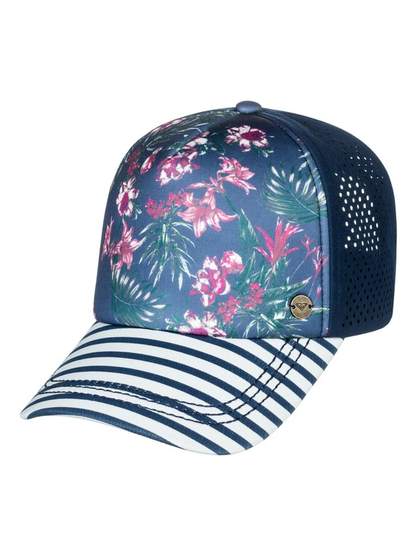 0 Waves Machines Trucker Hat Blue ERJHA03443 Roxy