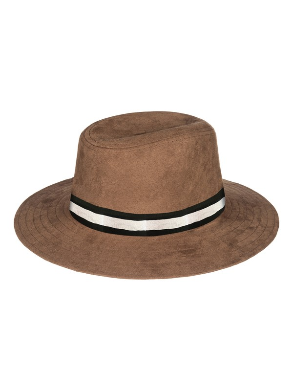 0 Da Vida Fedora Hat Brown ERJHA03447 Roxy