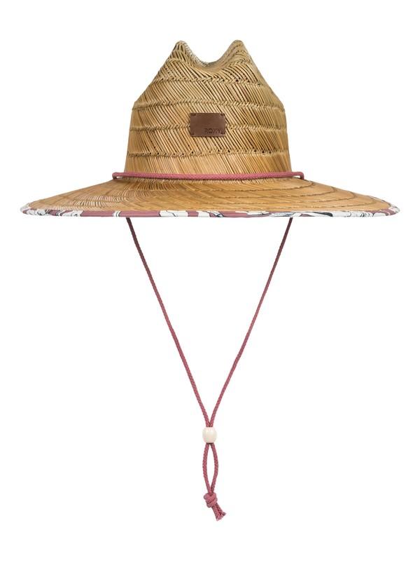 0 Sombrero para Sol de Paja Tomboy Rosa ERJHA03472 Roxy