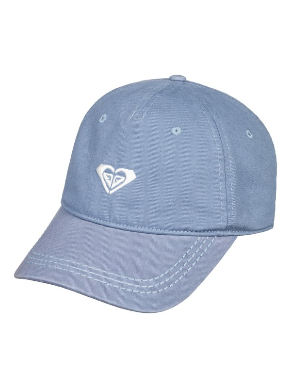 0 Dear Believer Logo Baseball Hat Blue ERJHA03477 Roxy