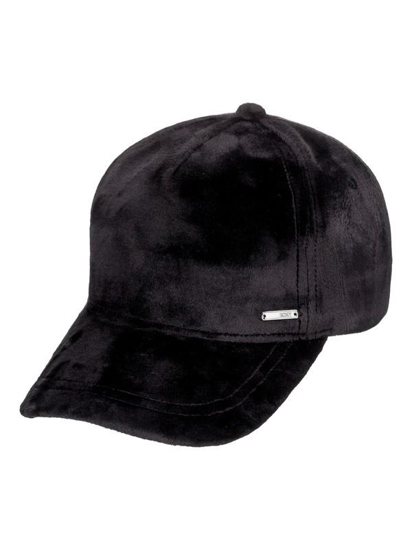 0 Southset Velvet Baseball Hat Black ERJHA03480 Roxy