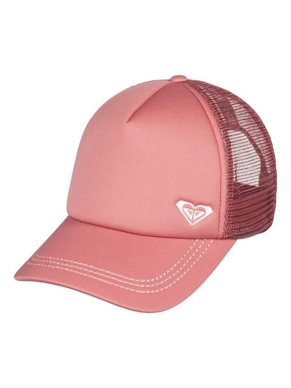 0 Finishline Color Trucker Hat Pink ERJHA03484 Roxy