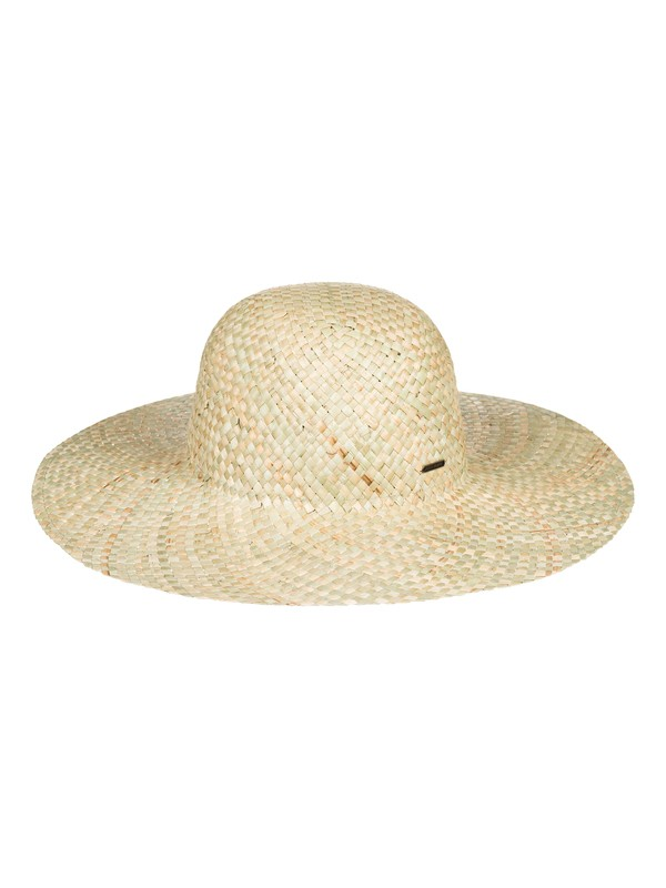 0 Sombrero de sol de rafia Sun Will Rise Amarillo ERJHA03497 Roxy
