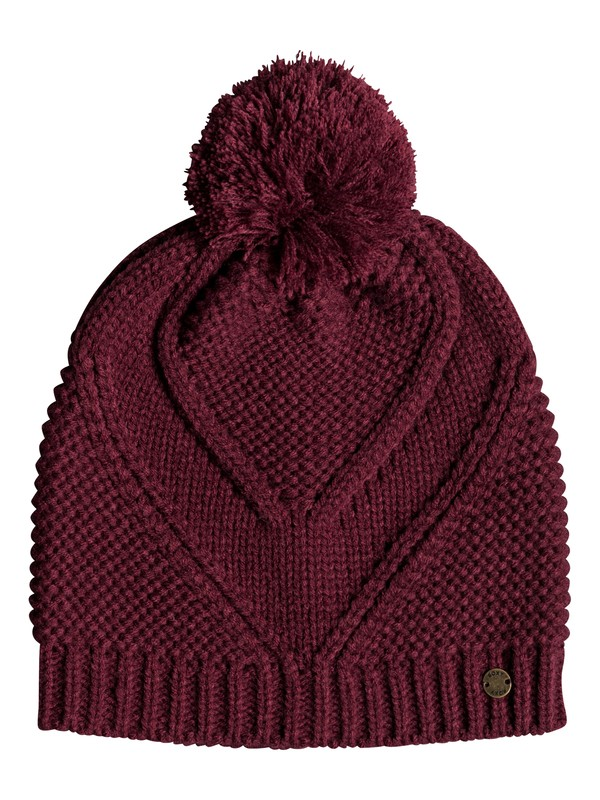 0 Lovers Soul Bobble Hat Red ERJHA03514 Roxy