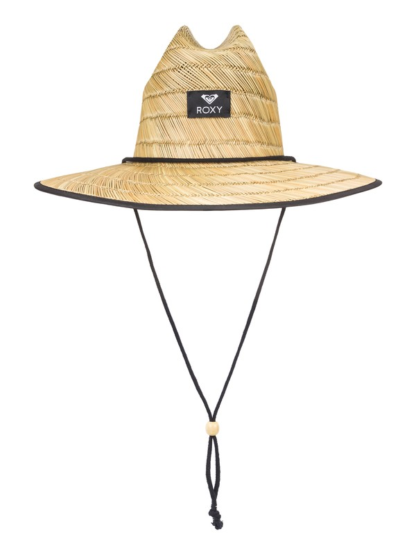 0 Tomboy Straw Lifeguard Hat Black ERJHA03521 Roxy