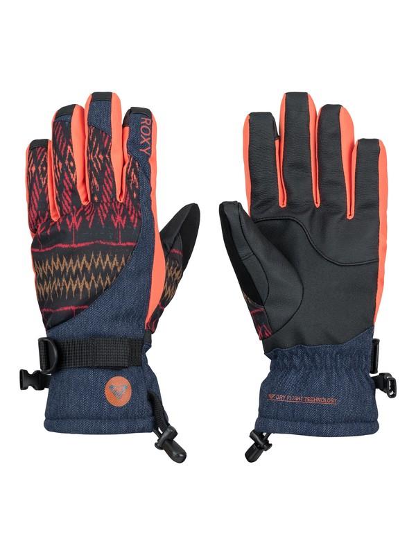 0 Merry Go Round Snowboard Gloves  ERJHN03012 Roxy