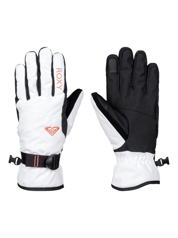 0 ROXY Jetty Solid Snow Gloves  ERJHN03042 Roxy